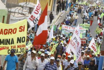 Perù: Esercito contro le proteste a Islay