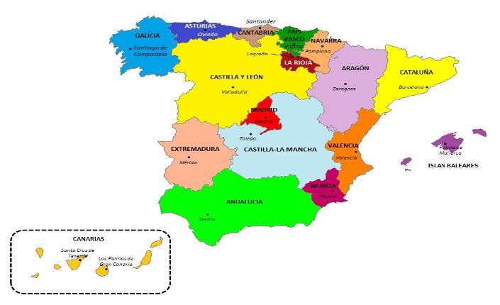 Elezioni regionali in Spagna: dove si vota