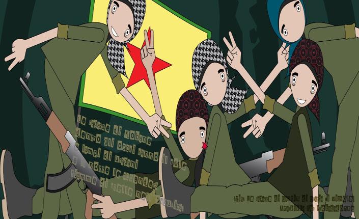donne kurde anarkikka