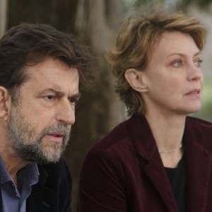 Moretti e Buy in una scena del film
