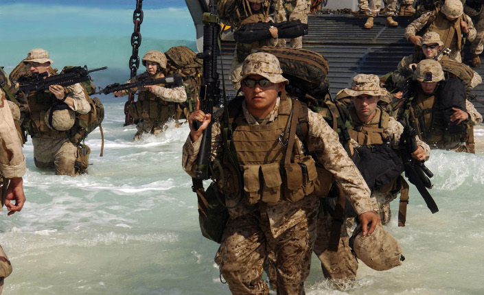 sbarco marines