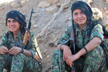 Rojava, donne al fronte (video)