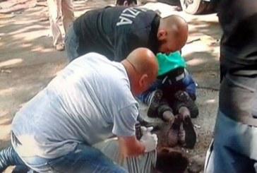 Tiburtina, la polizia sgombera i migranti