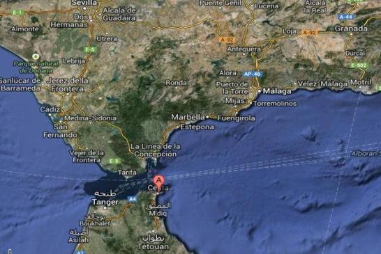 mappa posizione Ceuta ok