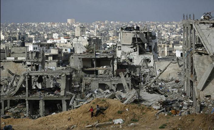 Ciò che resta di Gaza dopo l'attacco israeliano dell'agosto scorso