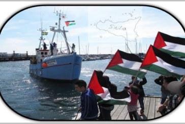 """Flotilla3: """"Marianne"""" attracca a Palermo"""