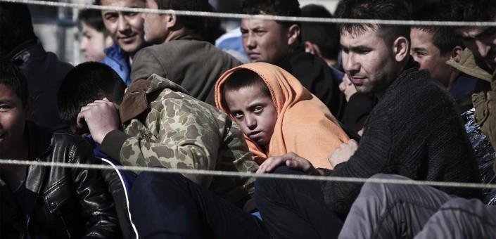 Lesbo: la provenienza dei profughi è prevalentemente dalla Siria, dall'Iraq e dall'Afghanistan: in fuga dai conflitti