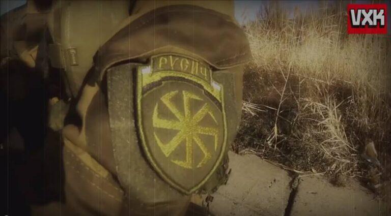 VIDEO L'impatto (solo) mediatico dei fascisti nel Donbass