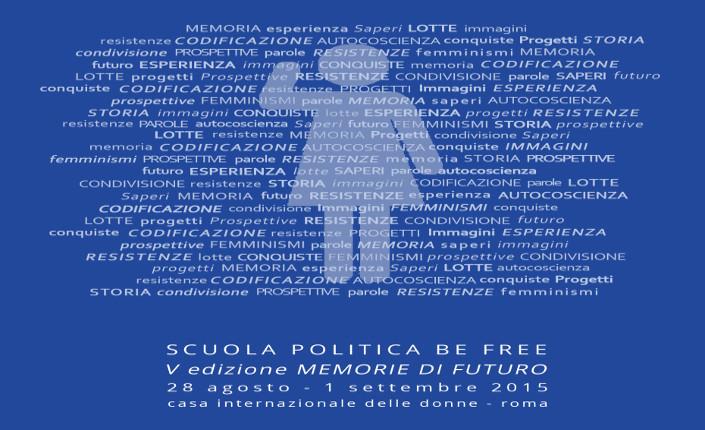 Be Free V scuola politica estiva