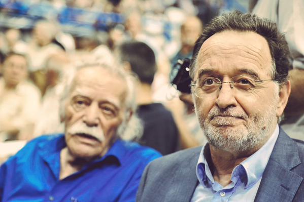 Dissidenti in Syriza, l'ex ministro lafazanis e manolis glezos, eroe della resistenza al nazismo