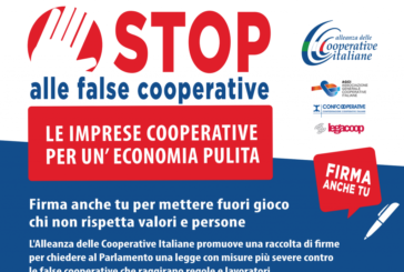 Basta false cooperative