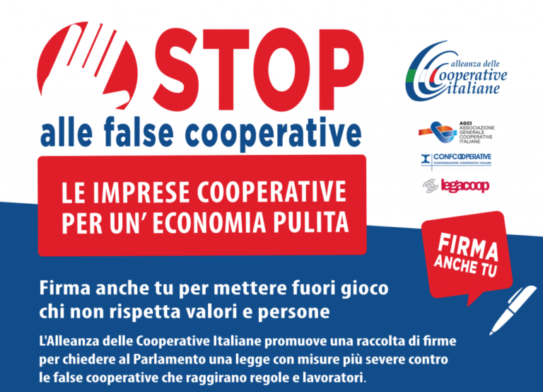 Basta false cooperative