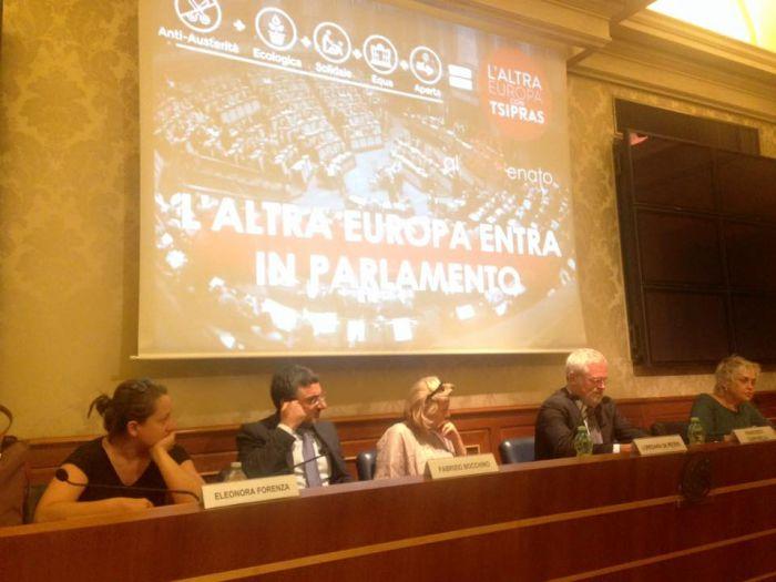 Unità della sinistra, gruppi parlamentari comuni entro l'anno