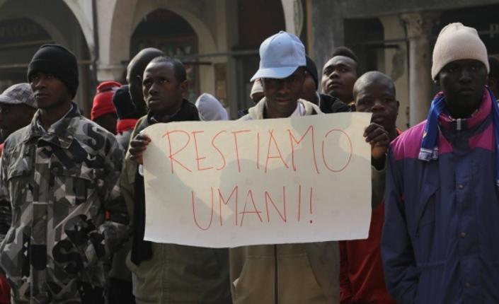 Treviso e Roma: proteste anti rifugiati