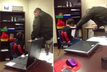 Usa, poliziotto ammanetta due bambini disabili (video)