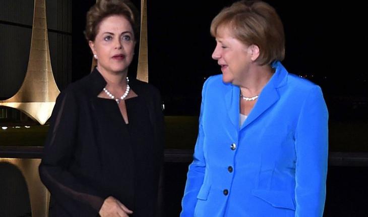 Merkel e Roussef