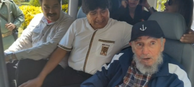Fidel, il compleanno del lider maximo con Maduro e Morales