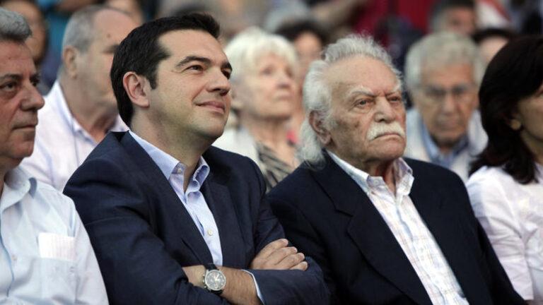 "Grecia, Glezos bacchetta Syriza: ""Tornate in voi"""