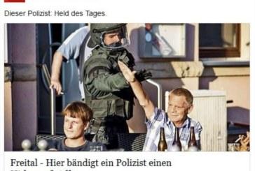 Germania, agente toglie il saluto al nazista