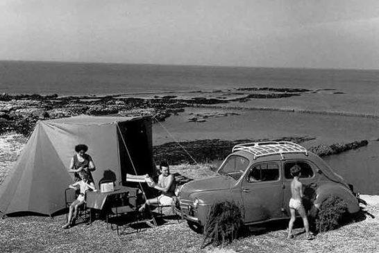 DOISNEAU-1337-Camping-aux-Sables-d-Olonne-1959