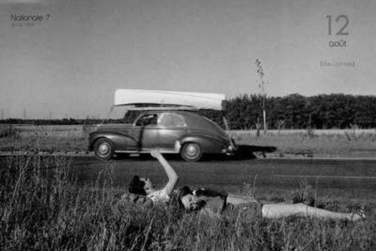 DOISNEAU-1341-Nationale-7-1954