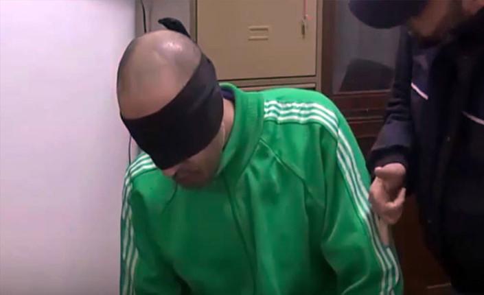 Nella foto Saad Gheddafi in un fermo immagine del video