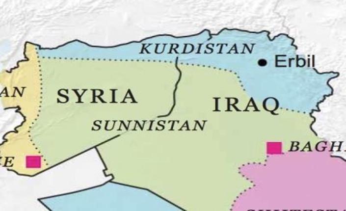 Pubblicato nel 2013, il piano Wright riprende gli elementi del piano Juppé per la Libia, la Siria e l'Iraq. Tuttavia, Robin Wright va oltre, includendo i progetti per l'Arabia Saudita e lo Yemen