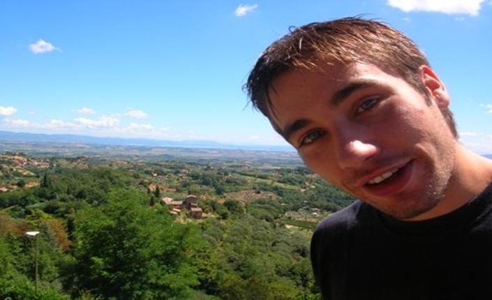 Renato Biagetti, ucciso a 26 anni, da due fascisti sul litorale romano nell'agosto del 2006