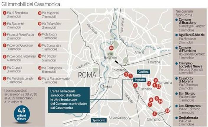 Roma: case popolari ai Casamonica