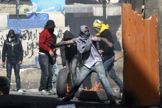 i  Palestina proteste 31 ago 2015