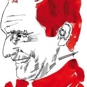 Calvino ritratto da Graziano Uriga