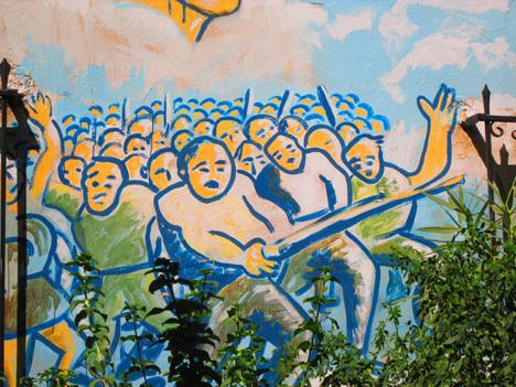 Atene, giovani antifascisti lontani da Tsipras