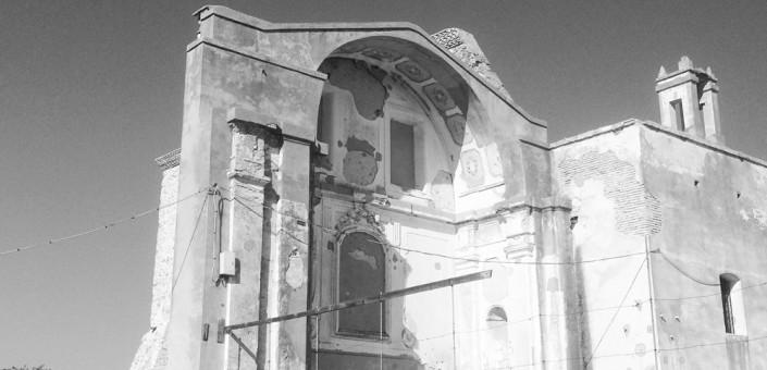 Il Monastero di Craco in Rovina