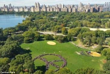 Per la pace in Central Park nel ricordo di John Lennon
