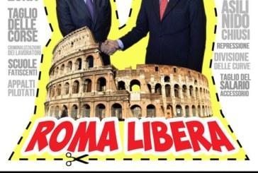 #RomaCittAperta non è in vendita, sciopera e va in piazza