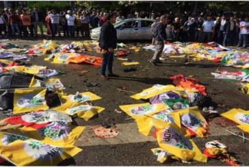 Ankara, massacrata la marcia della pace