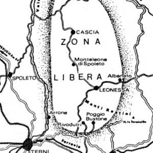 mappa della zona libera