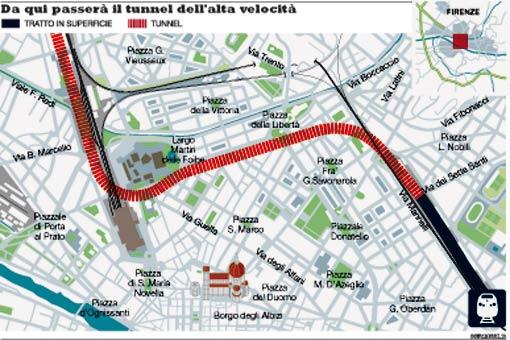 Firenze, l'alternativa al Tav esiste