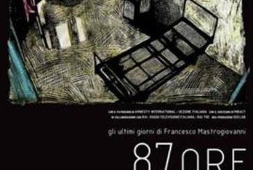 """Mastrogiovanni, esce """"87 ore"""", l'agonia del maestro morto di Tso"""