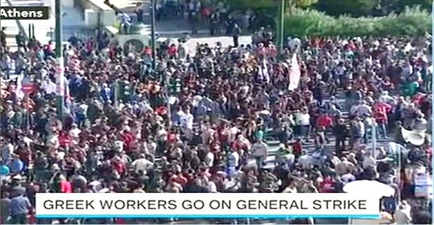 Grecia ferma. Primo sciopero generale dell'era Tsipras