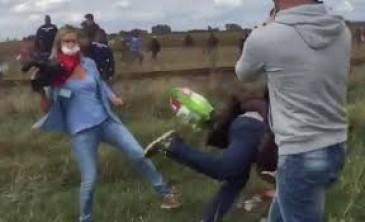 """Profugo sgambettato dalla reporter: """"Mai stato terrorista, calunnie di regime"""""""