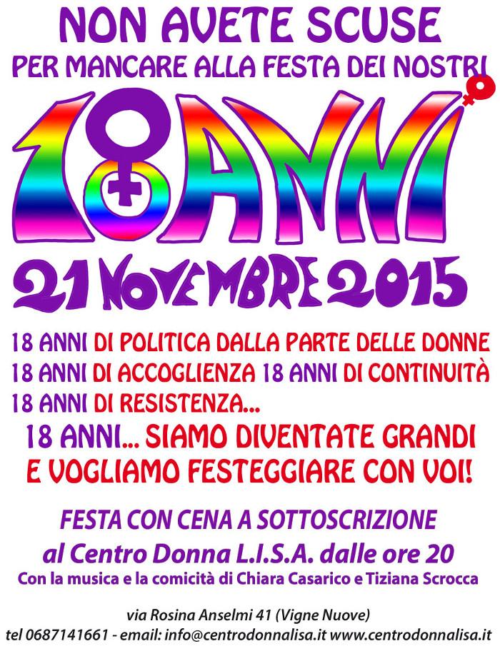 Donna Lisa compleanna-2015