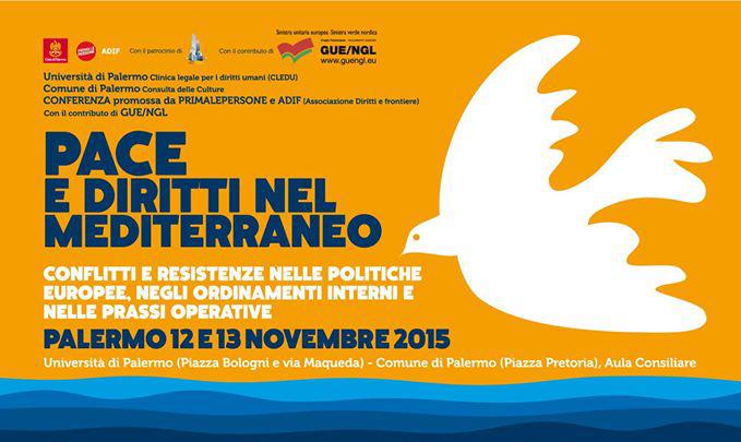 A Palermo per costruire un Mediterraneo di Pace e Diritti