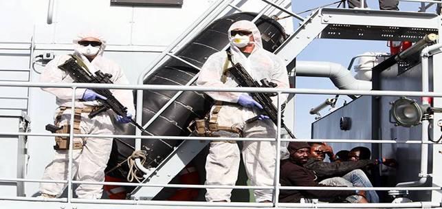 Frontex: puntare, colpire, affondare
