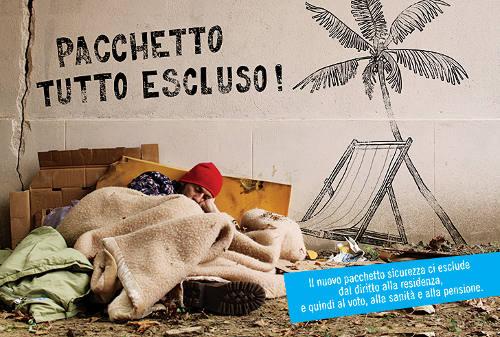 Senza dimora per sempre. Grazie a Berlusconi, Monti e Renzi