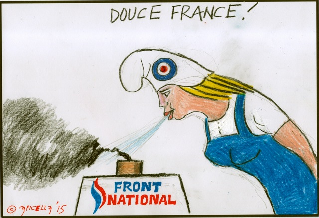 il risultato elettorale francese visto da Apicella DOUCE FRANCE