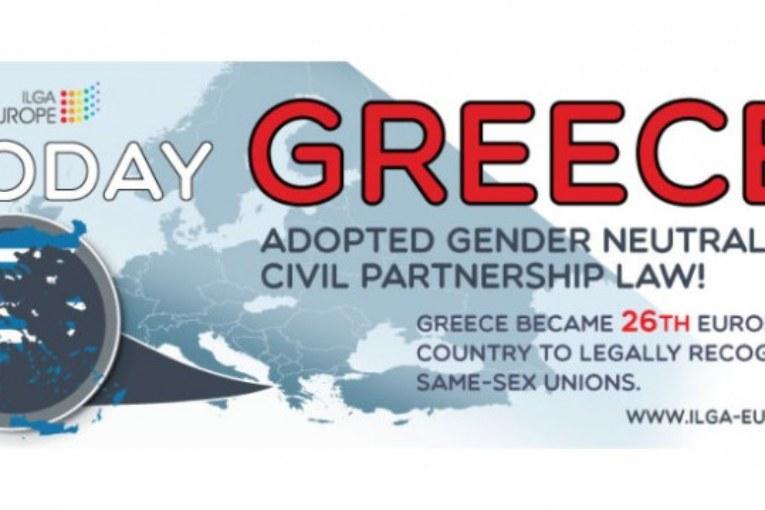 La Grecia riconosce le unioni civili di coppie dello stesso sesso