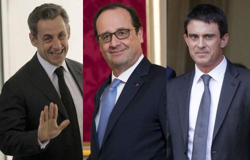 Nicolas-Sarkozy-Francois-Hollande-Manuel-Valls