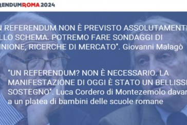 Roma 2024, sinistra e radicali: referendum per le olimpiadi