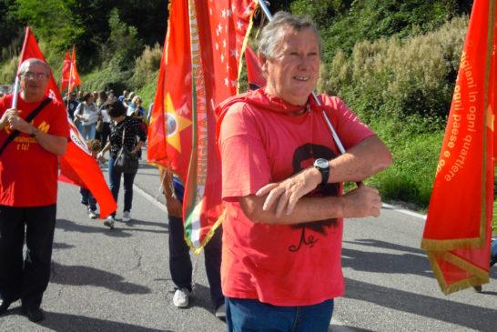19-09-2015 San Colombano la bansiera della 122a brigata  Garibaldi